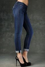 Hudson Jeans Bacara flap pocket crop straight cuffed