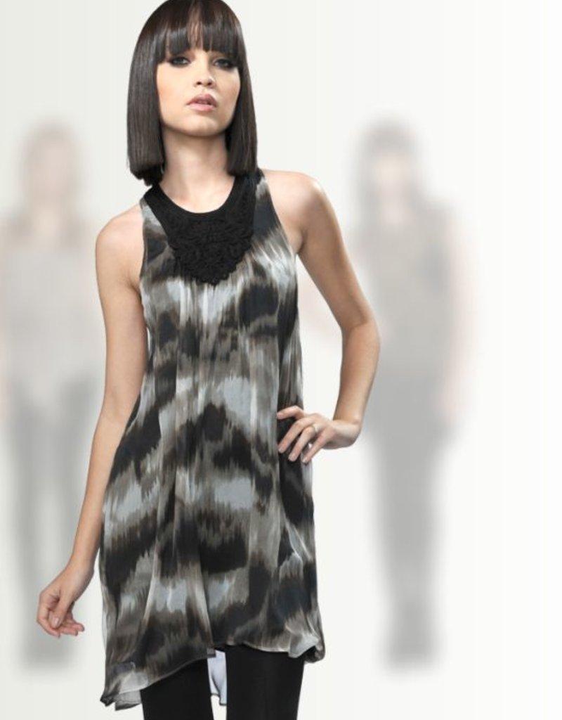 Greylin Eliza Ikat dress