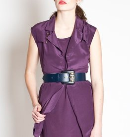 "Maison Trench 2-piece dress w/""trench"" coat top layer"
