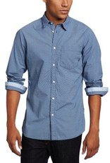 JC Rags Allover Tiny Diamond Dress Shirt
