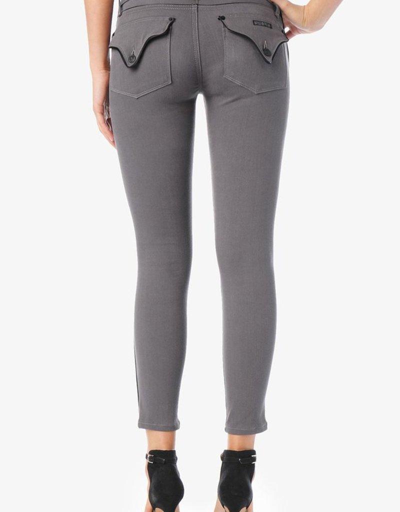 Hudson Jeans Dakota signature flap pocket crop super skinny w/ blk contrast piping detail