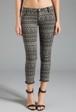 One Teaspoon Machu Picchu Iggy's tribal print cropped jean