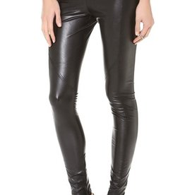 David Lerner Vegan leather basic legging