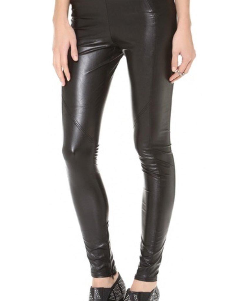 David Lerner Vegan leather basic legging