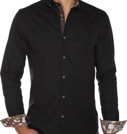 Stone Rose Tone-on-Tone Plaid Dress Shirt