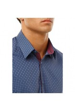 Stone Rose Geometric Dress Shirt