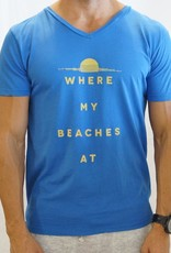 Kinetix Where My Beaches At Tee