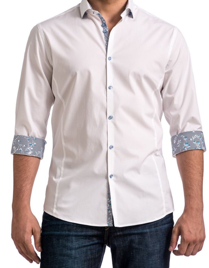 Stone Rose Solid Stretch Dress Shirt