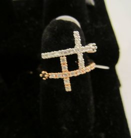 Romeo + Juliet Cross Ring
