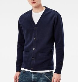 G-Star Core Slim V-Neck Button Down L/S Pocket Knit Cardigan