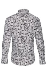 Casual Friday Floral Print Slim Fit Dress Shirt