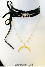 Elizabeth Stone Moon Shine Necklace
