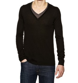 JC Rags Double Sweater