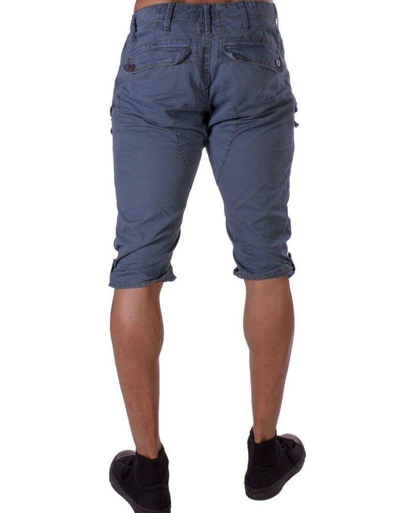 Jetlag Cancun 3D cargo zip & button flap pockets capri short