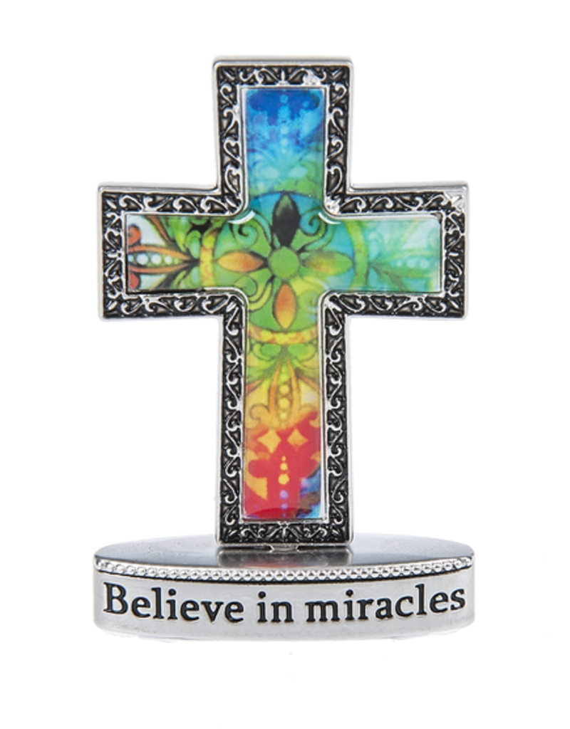 Ganz Believe in Miracles Tiny Cross