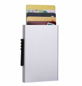 Mad Style Auto RFID Credit Card Wallet Black or Silver