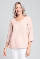 Flax Flax  V  Pullover- Linen Shirt
