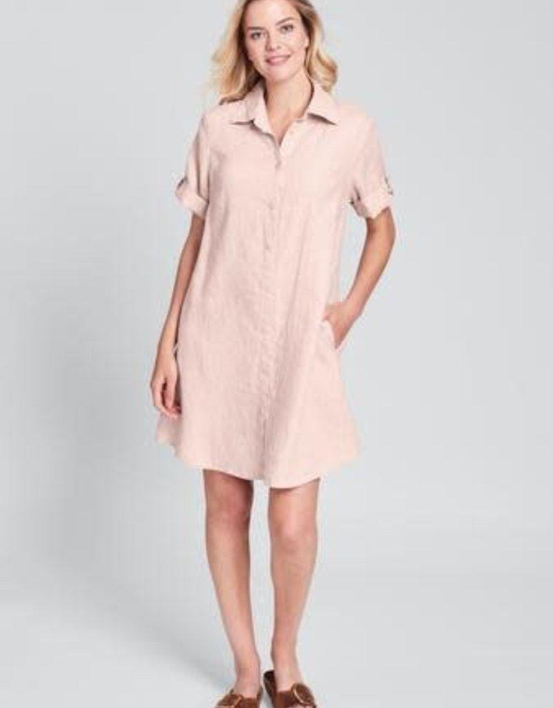 Flax Flax Work Shirt Dress