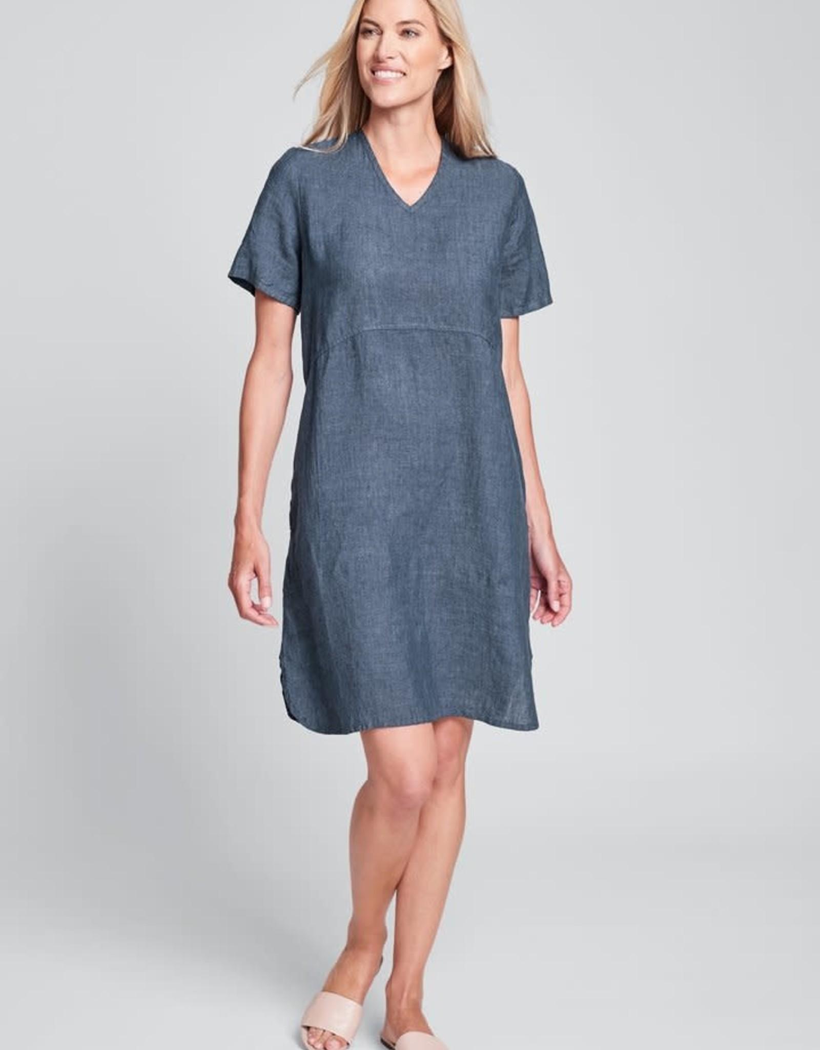 Flax Flax Linen Tee Shirt Dress