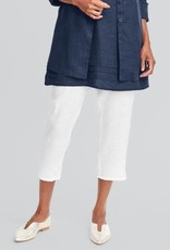 Flax Flax Linen Pocketed Ankle Pant
