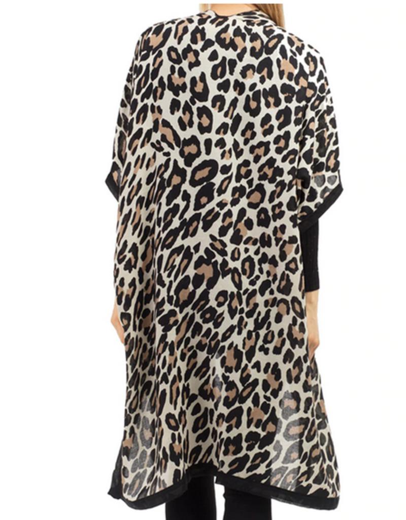 Leopard Kimono 2 Cplors