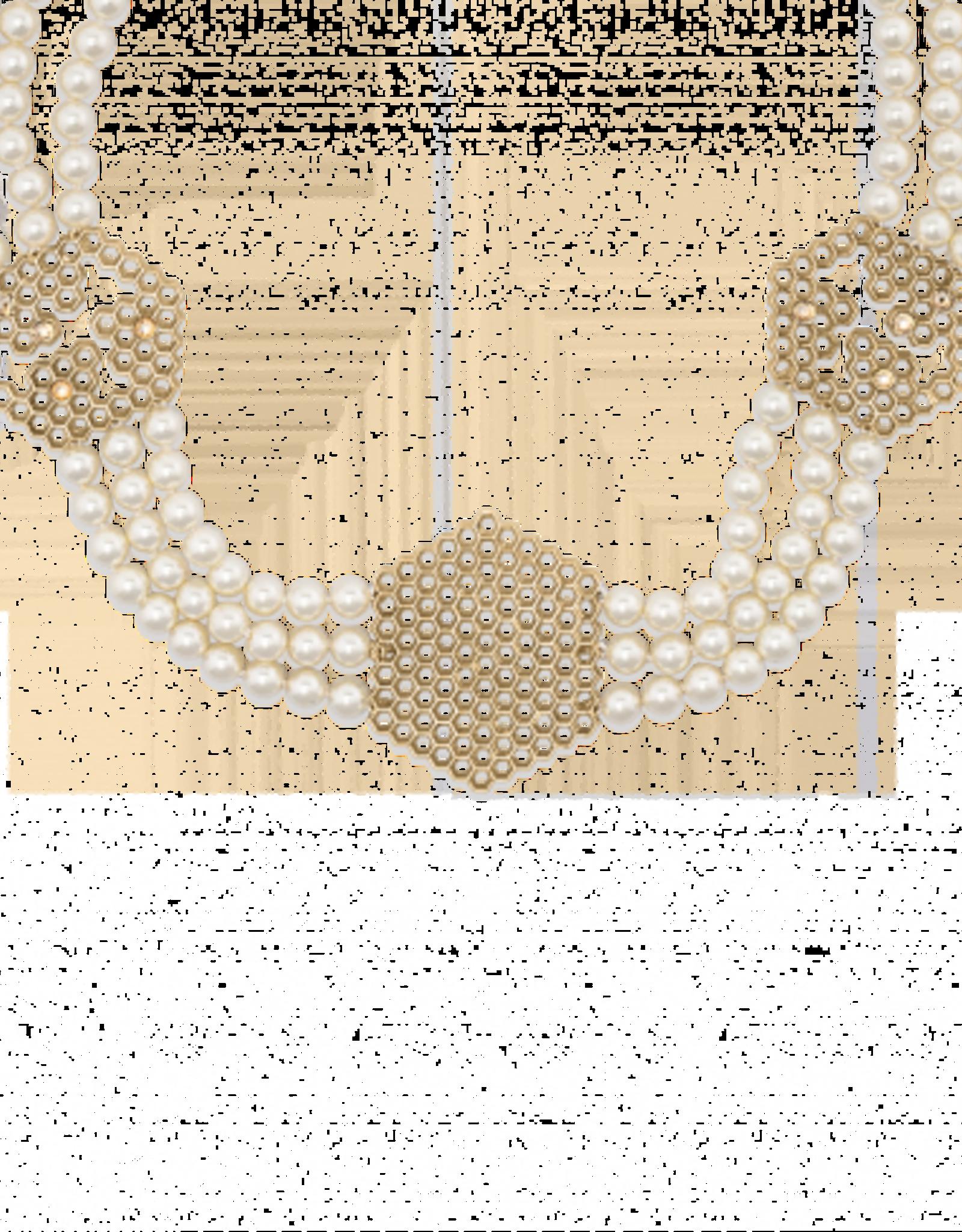 Mignon Faget Mignon Faget Behive Swarovski Pearl Collar Bronze