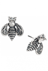 Mignon Faget Mignon Faget Bee Sterling Stud Earrings
