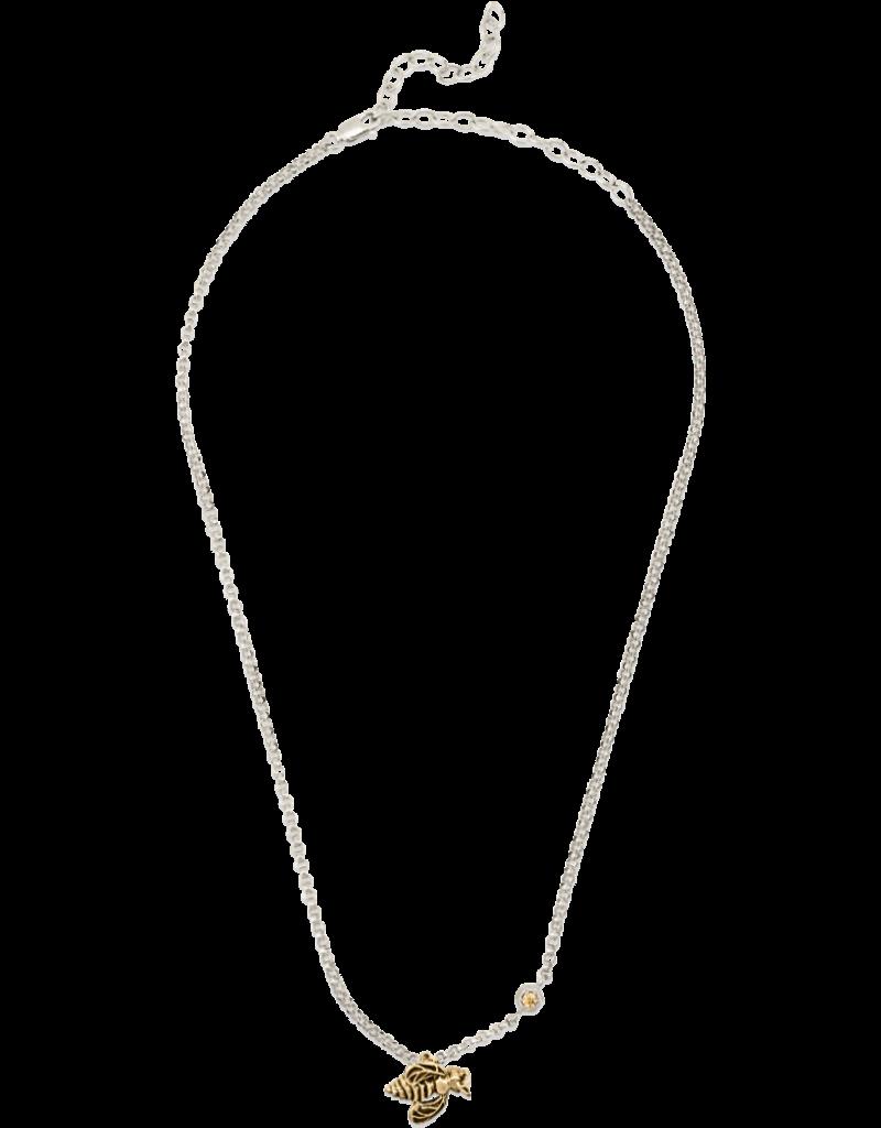 Mignon Faget Mignon Faget Bronze Honeybee Chain Necklace