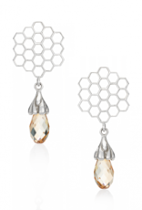 Mignon Faget Mignon Faget Hive Honey Drop Earrings