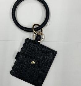 Bracelet Key Ring with Credit Card Case