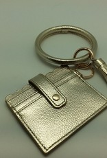 Bracelet Key Ring with Credit Card Case 2 Colors