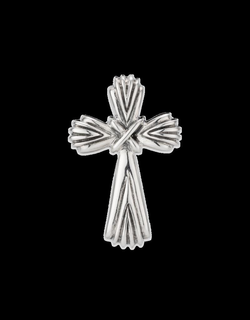 Mignon Faget Scallop Cross Pendant