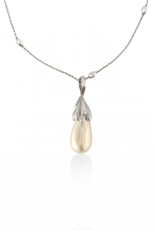 Mignon Faget Mignon Faget Drop of Grace Swarovski Pearl Necklace