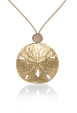 Mignon Faget Mignon Faget Sand Dollar Beach Necklace Bronze