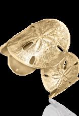 Mignon Faget Mignon Faget Sand Dollar Bronze Cuff