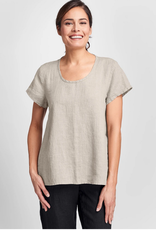 Flax Flax Weightless Linen Tee 4 Colors