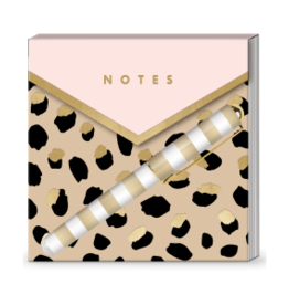 Cheetah Notepad/Pen