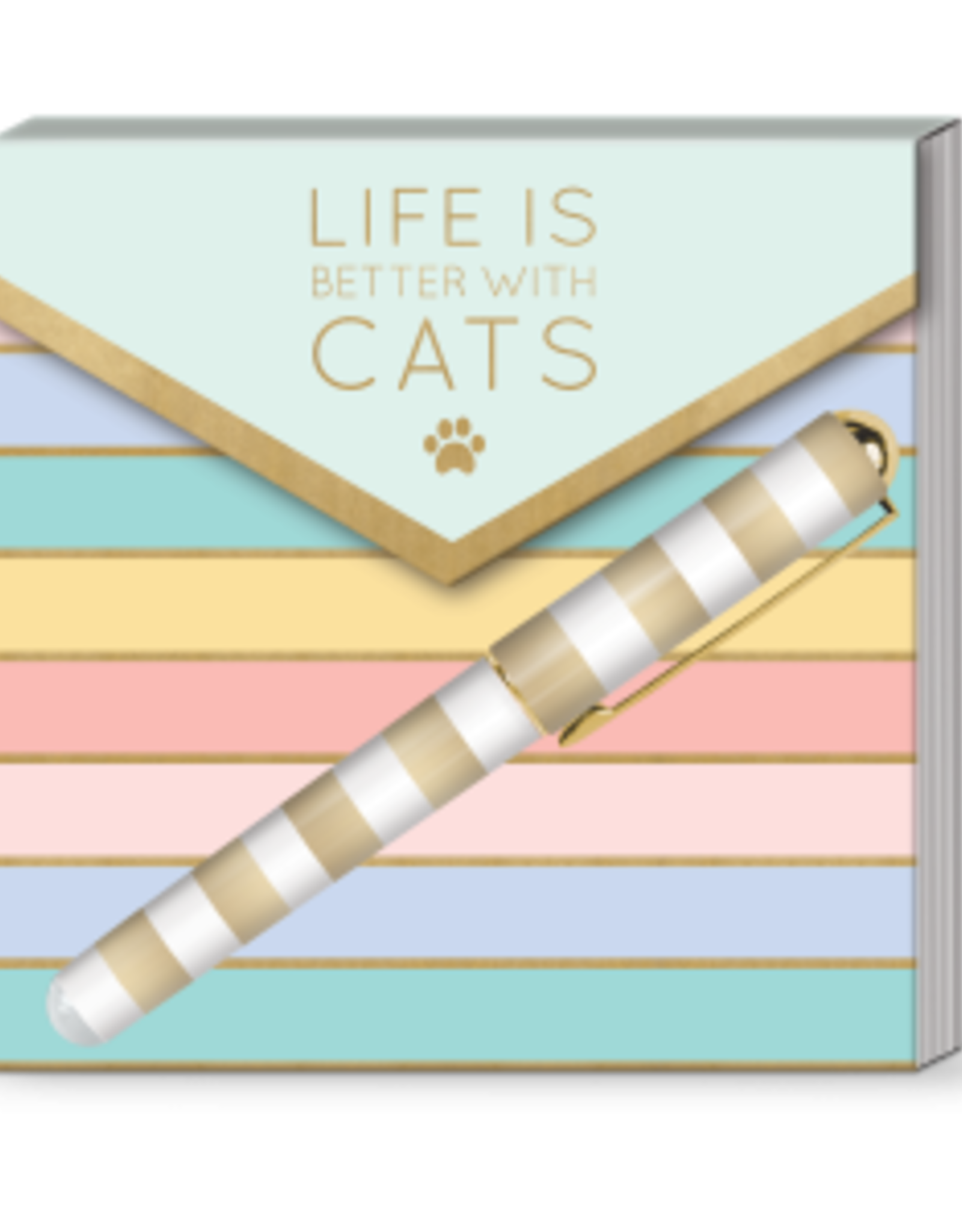 Life is Better W/ Cats Notepad