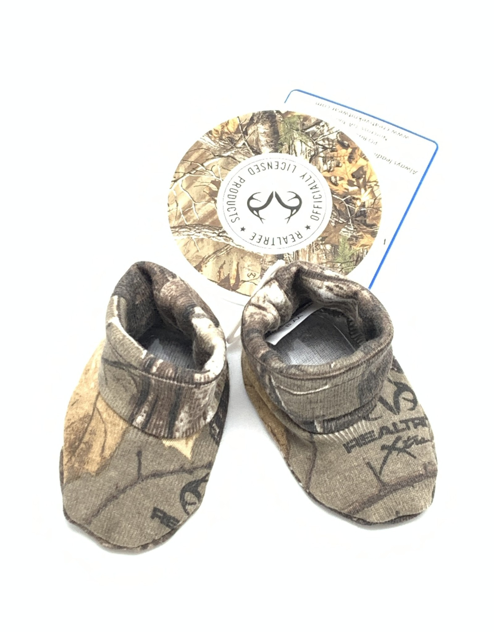Creative Knitwear Camo Booties Newborn