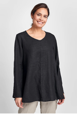 Flax Flax Flourish Linen Pullover 3 Colors