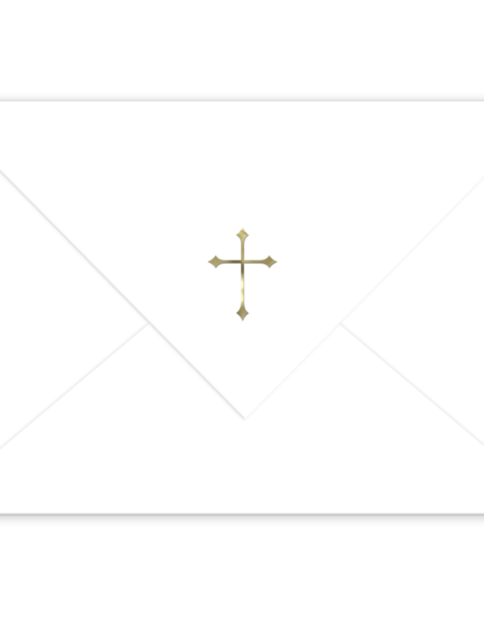 Boxed Cross Note Cards