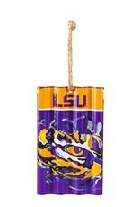 LSU Corrugated Ornament