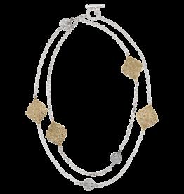 Mignon Faget Mignon  Faget Renaissance Stations Necklace Bronze