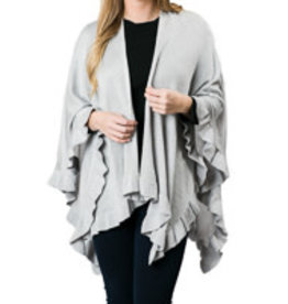Ruffled Wrap 4 Colors