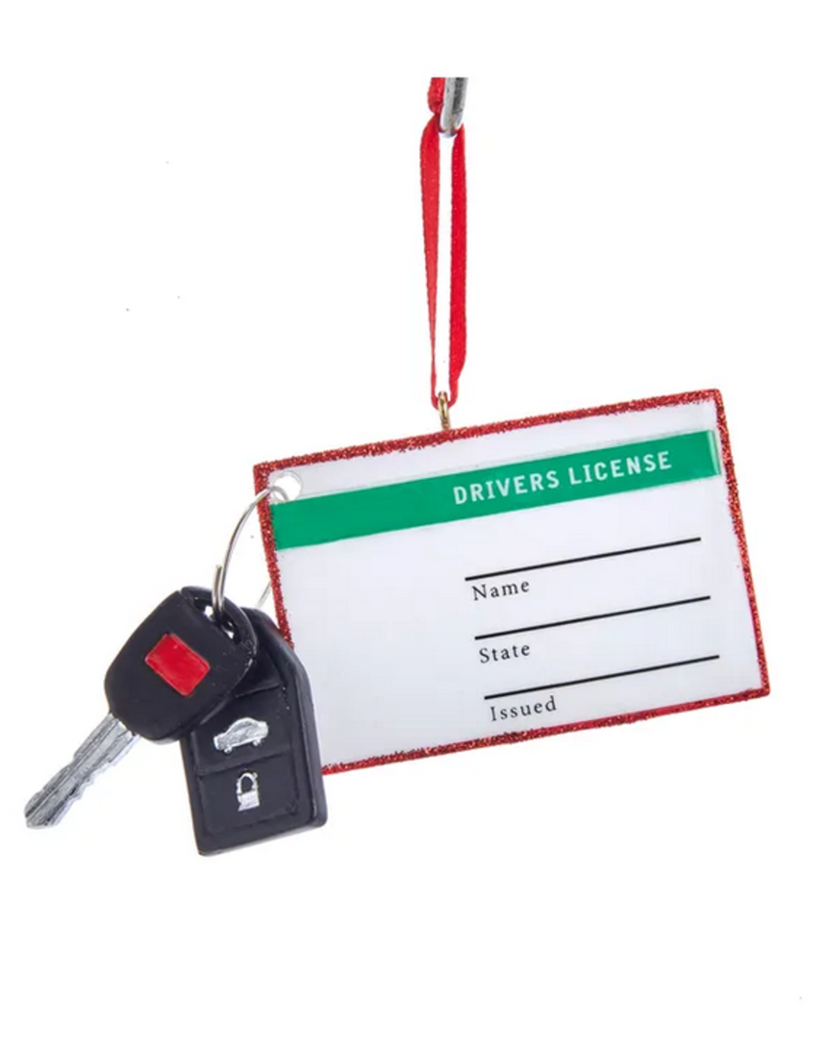 Drivers License Ornament