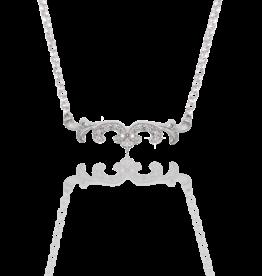 """Mignon Faget Mignon Faget Scroll Diamond Necklace 16-20"""""""