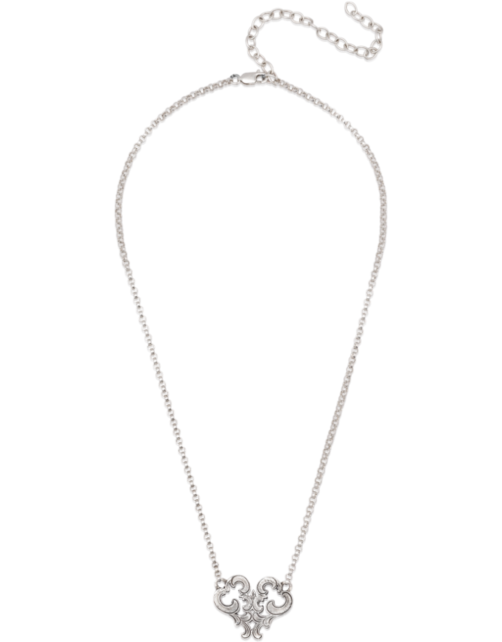 Mignon Faget Mignon Faget Renaissance Heart Necklace