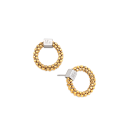 Mignon Faget Halo Studs Gold