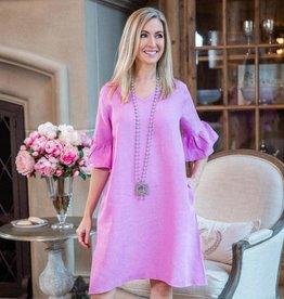 Bethany Linen Dress