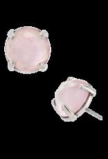 Mignon Faget Mignon Faget Doublet Pink MOP Studs